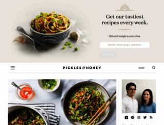 picklesnhoney.com screenshot