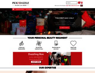 pickndazzle.com screenshot