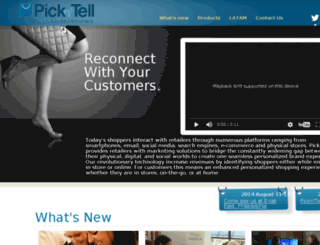 pickntell.com screenshot