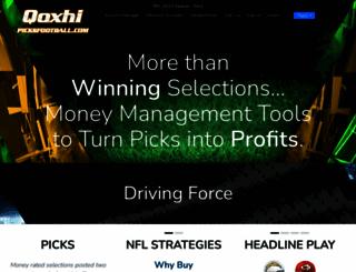 picksfootball.com screenshot