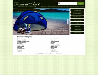 picnicatascot.com screenshot