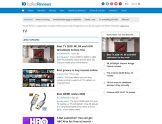 pico-projectors.toptenreviews.com screenshot