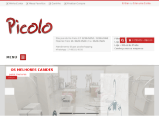 picoloshopping.com.br screenshot