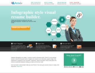 pictocv.com screenshot