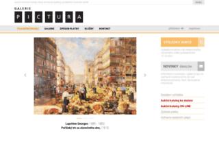 pictura.cz screenshot