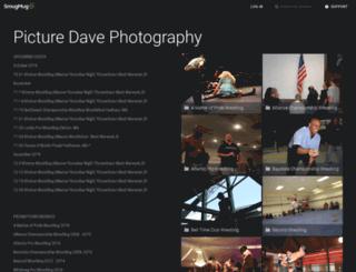 picturedavephotography.smugmug.com screenshot