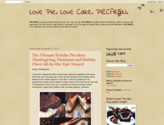 piecaken.blogspot.ca screenshot