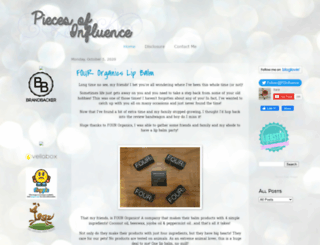 piecesofinfluence.blogspot.com screenshot