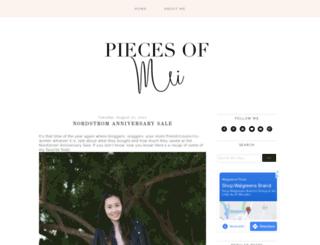 piecesofmei.com screenshot