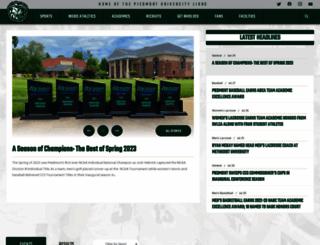 piedmontlions.com screenshot