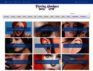 piercing-abondance.com screenshot