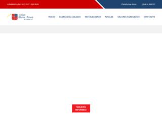 pierrefaurezamora.edu.mx screenshot