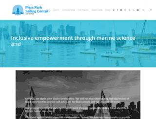 piersparksailing.org screenshot