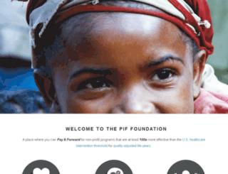pifapparel.com screenshot