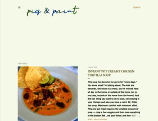pigandpaint.com screenshot