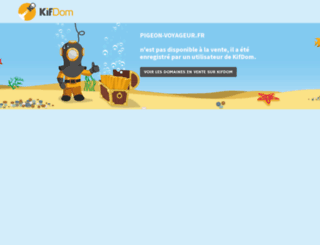 pigeon-voyageur.fr screenshot