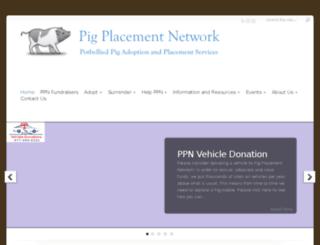 pigplacementnetwork.com screenshot