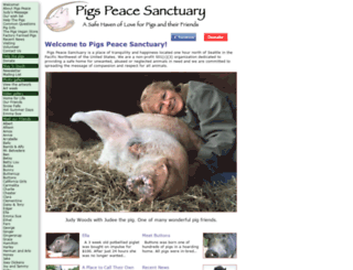 pigspeace.org screenshot