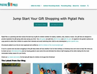 pigtailpals.com screenshot