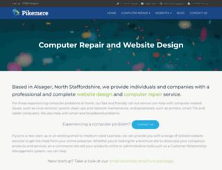 pikemere.co.uk screenshot