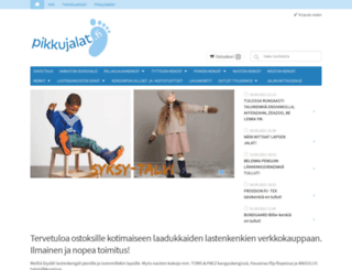 pikkujalat.fi screenshot