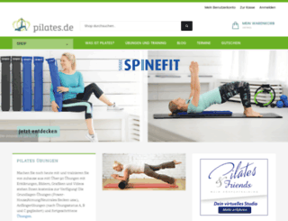 pilates.de screenshot