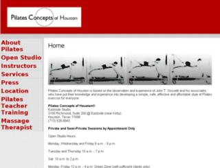pilatesconcepts.com screenshot
