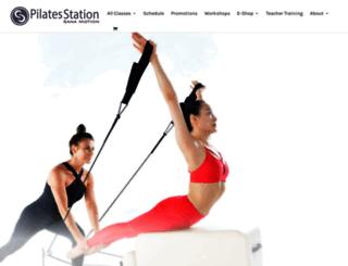 pilatesstation.co.th screenshot