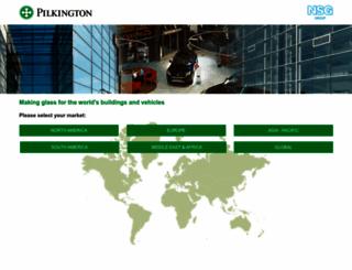 pilkington.com screenshot
