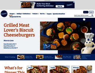 pillsbury.com screenshot