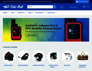 pilotmall.com screenshot