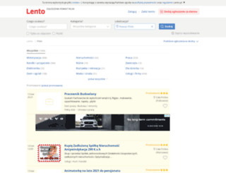 pilski.lento.pl screenshot