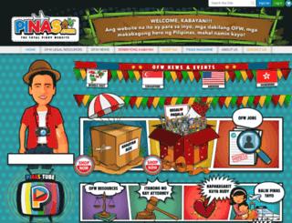 pinas.com screenshot