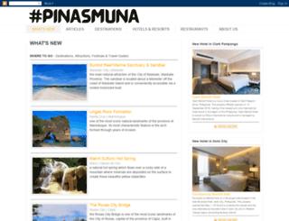 pinasmuna.com screenshot