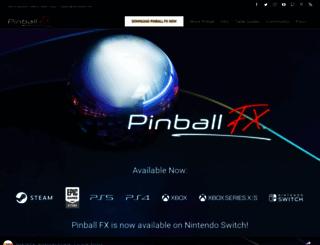 pinballfx.com screenshot