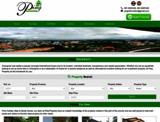 ping-property.com screenshot
