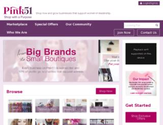 pink51.com screenshot