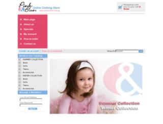 pinkandblue.com.eg screenshot