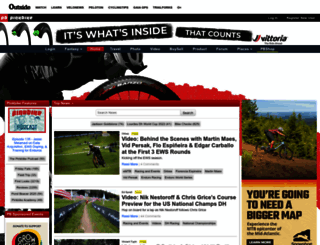 pinkbike.com screenshot