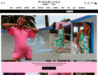 pinkblushmaternity.com screenshot