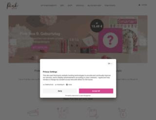 pinkbox.de screenshot