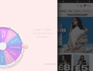pinkclove.co.uk screenshot