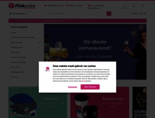 pinkcube.nl screenshot