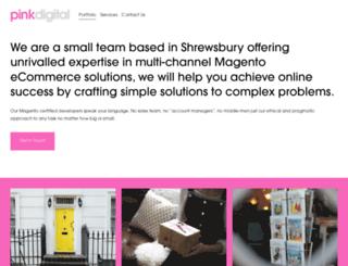 pinkdigital.co.uk screenshot
