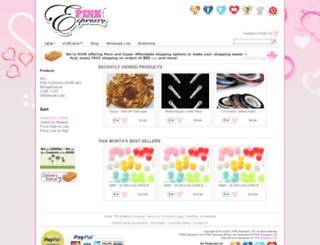 pinkespresso.com screenshot
