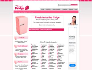 pinkfridge.com screenshot