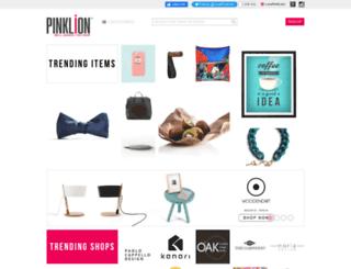pinklion.com screenshot