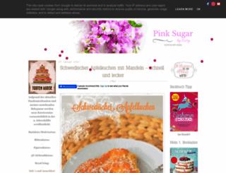 pinksugar-kessy.de screenshot