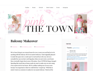 pinkthetown.com screenshot