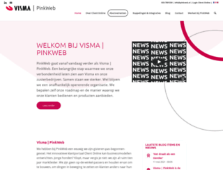 pinkweb.nl screenshot